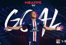 Paris Saint-Germain 5-1 Lyon, Mbappé ha cosechado hat-trick en todos los eventos de clubes en Francia.